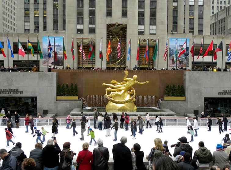 Votre guide de patinage à la patinoire du Rockefeller Center / New York