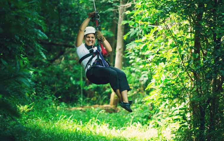 Zip Lines and Ropes Courses in MD, VA en WV / Washington, D.C..