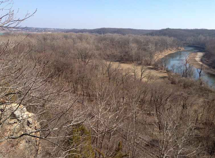 Castlewood State Park i St. Louis County