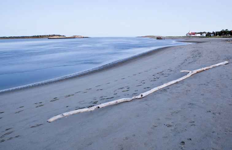 Popham Beach in Maine