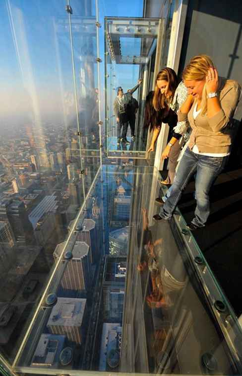 View Chicagoland Van baars van Willis Tower's Skydeck / Illinois
