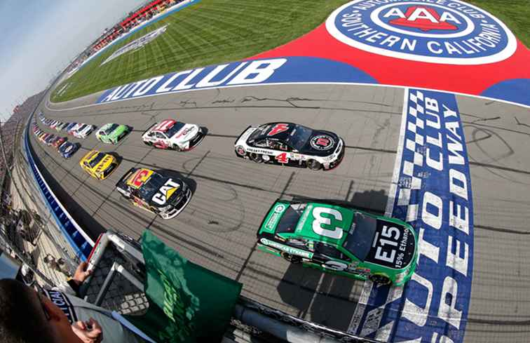 Din RV Guide till Auto Club Speedway i Kalifornien