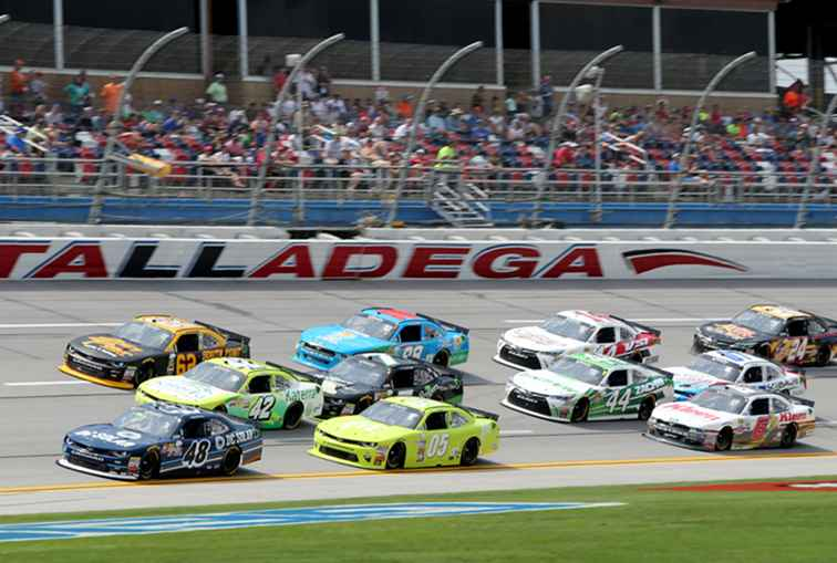Su gu�a RV para Talladega Superspeedway / Alabama