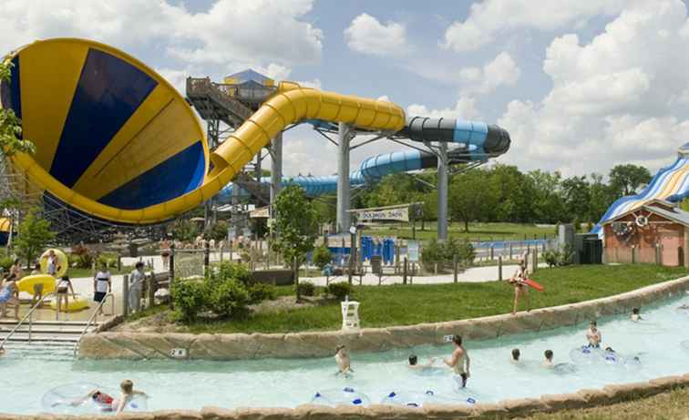 Zoombezi Bay Water Park vid Columbus Zoo och Aquarium
