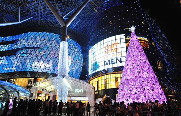 Weihnachten in den Tropen - Light-Ups und Displays in Singapur