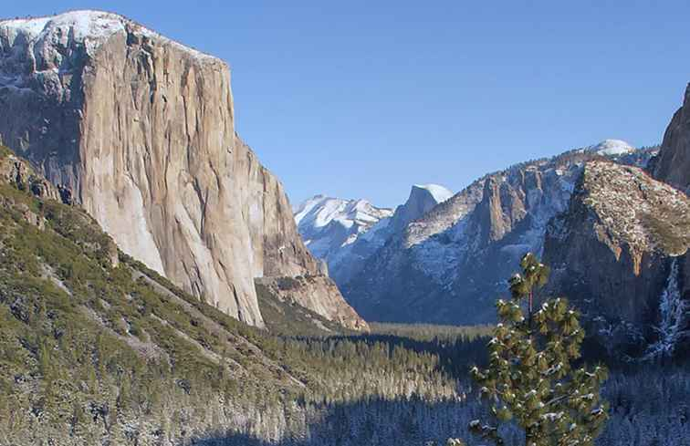 Yosemite im Winter / Kalifornien
