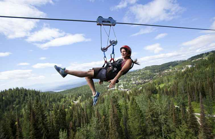 Zip Line und Canopy Adventure Tours in Arkansas / Arkansas